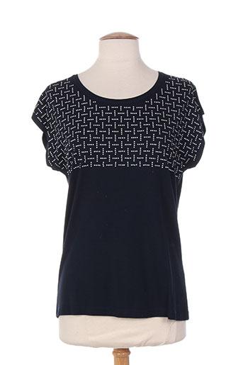 lebek t-shirts / tops femme de couleur bleu