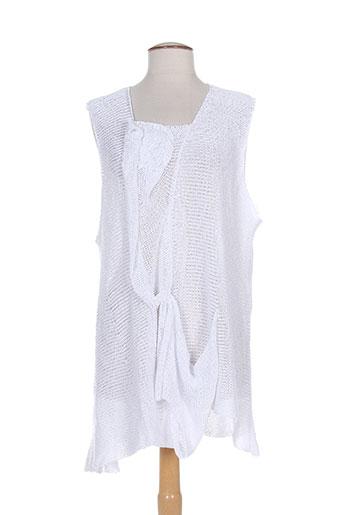 amandine pulls femme de couleur blanc