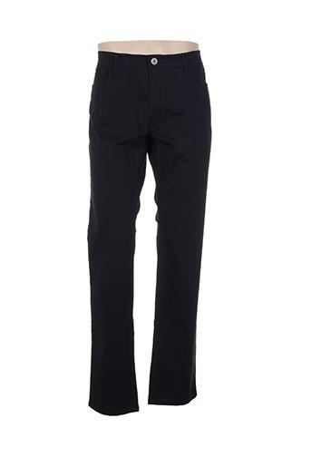 delahaye pantalons homme de couleur bleu