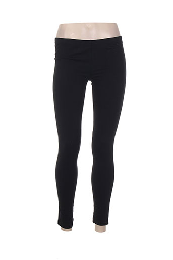 surkana pantalons femme de couleur noir