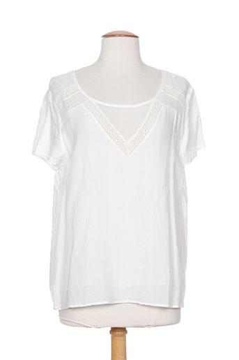c'est beau la vie chemises femme de couleur blanc