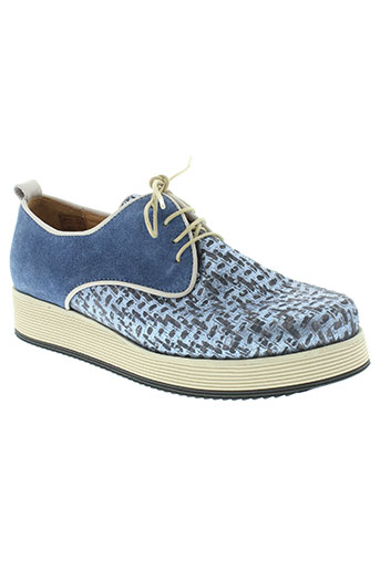 minka design chaussures homme de couleur bleu