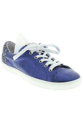 acebos chaussures femme de couleur bleu