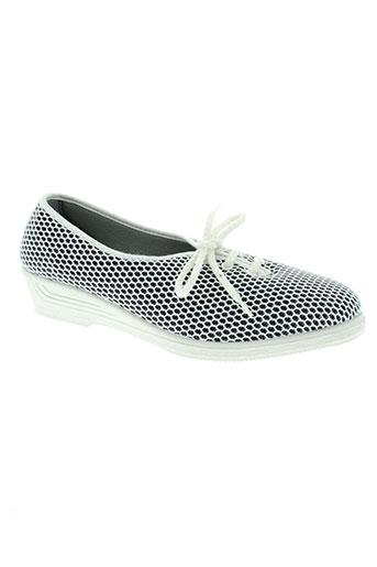 rondinaud chaussures femme de couleur blanc
