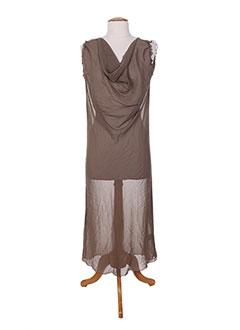 1295f776511d22 Jupons Et Fonds De Robe Femme De Couleur Marron En Soldes Pas Cher ...