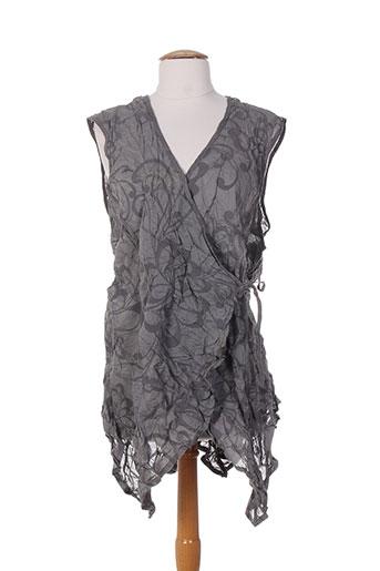 apart chemises femme de couleur gris