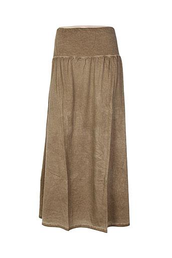 hebbeding jupes femme de couleur marron
