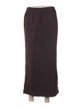 Jupe longue marron APART pour femme