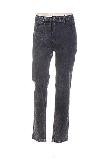 mat. jeans femme de couleur noir