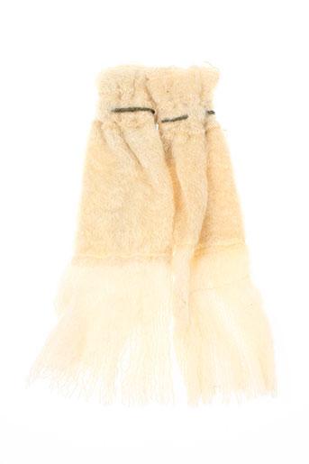 ian mosh accessoires femme de couleur beige