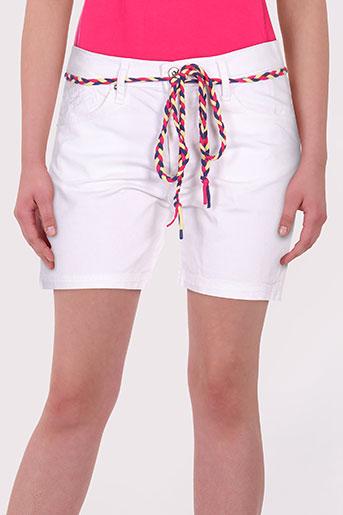 le petit baigneur shorts / bermudas femme de couleur blanc