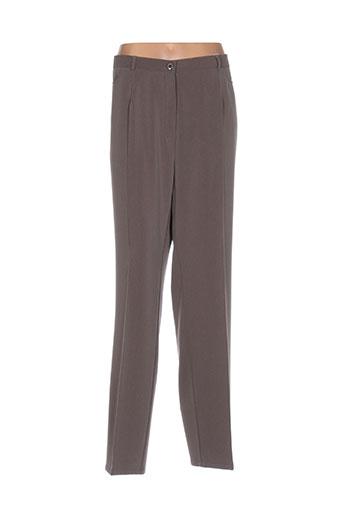 sommermann pantalons femme de couleur marron