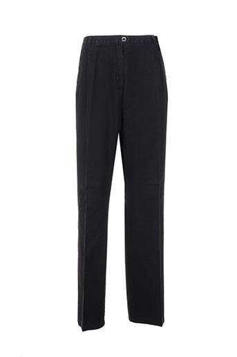 bleu de sym pantalons femme de couleur noir