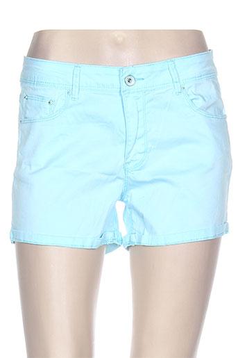 onado shorts / bermudas femme de couleur bleu