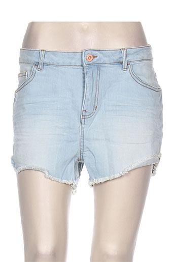 tom tailor shorts / bermudas femme de couleur bleu