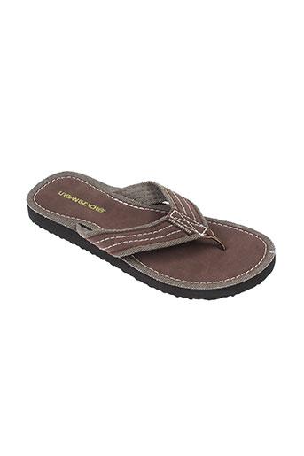 urban beach chaussures homme de couleur marron