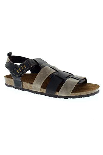 inter-bios chaussures homme de couleur marron