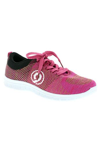 treeker 9 chaussures femme de couleur rose
