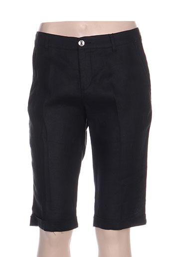 diplodocus shorts / bermudas femme de couleur noir