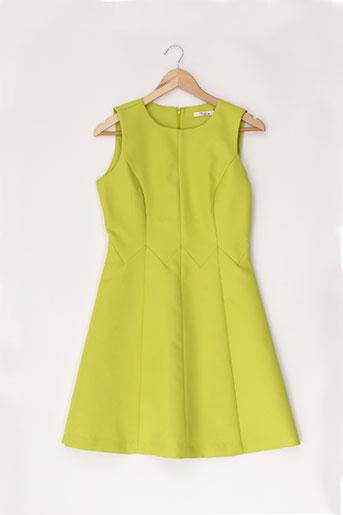 darling robes femme de couleur vert