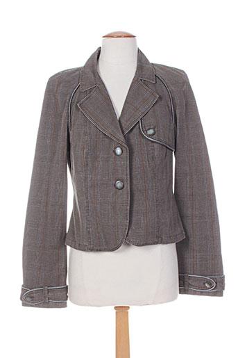 Veste chic / Blazer marron INFINITIF pour femme