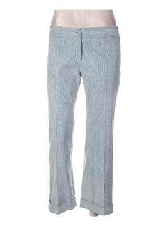Pantalon casual bleu ENTRACTE pour femme