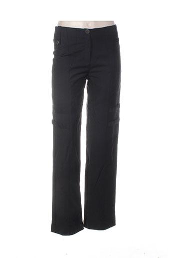 Pantalon casual noir BASKERVILLE & ME pour femme
