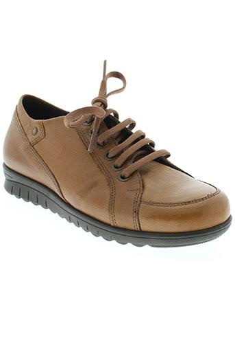 pitillos chaussures femme de couleur marron