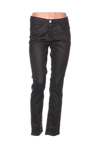 gerke my pants pantalons femme de couleur noir