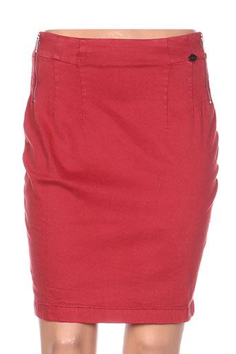 ddp jupes femme de couleur rouge