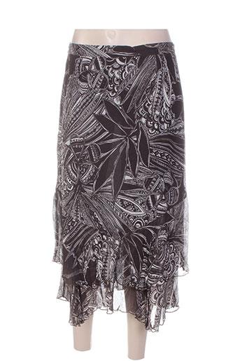 gevana jupes femme de couleur marron