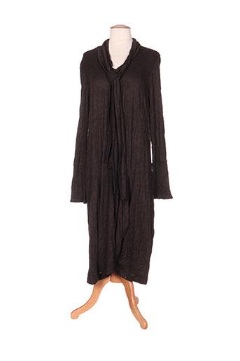 kristina robes femme de couleur marron