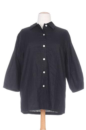 terramoda chemises femme de couleur noir