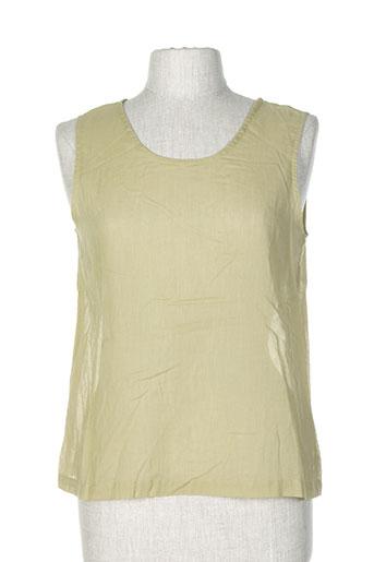 animale t-shirts / tops femme de couleur vert