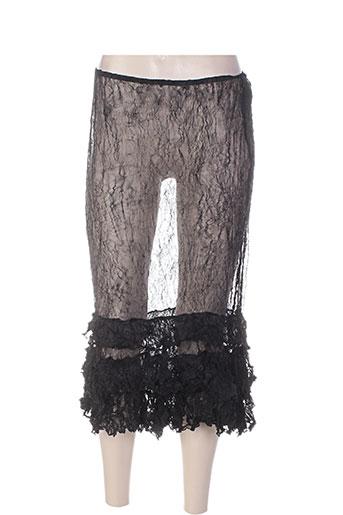 amandine jupes femme de couleur noir