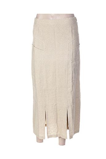 terramoda jupes femme de couleur beige