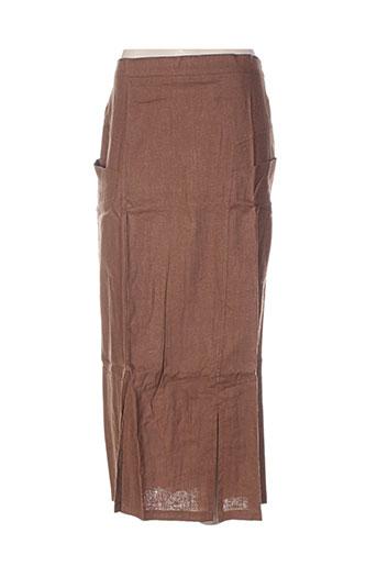 terramoda jupes femme de couleur marron