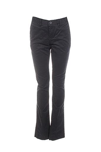 teddy smith pantalons garçon de couleur noir