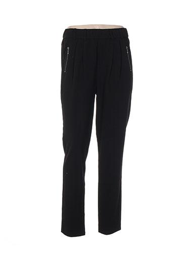 intown pantalons femme de couleur noir