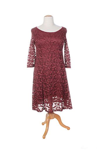 intown robes femme de couleur rouge