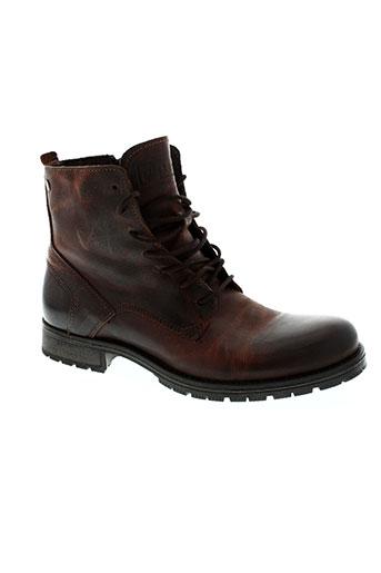 jack EFFI_CHAR_1 jones chaussures homme de couleur marron