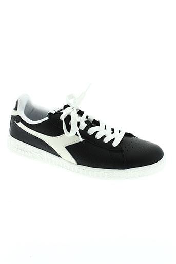 diadora chaussures homme de couleur noir