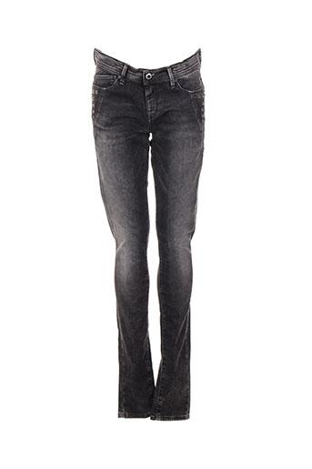 pepe jeans jeans fille de couleur gris
