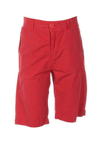 pepe jeans shorts / bermudas garçon de couleur rouge