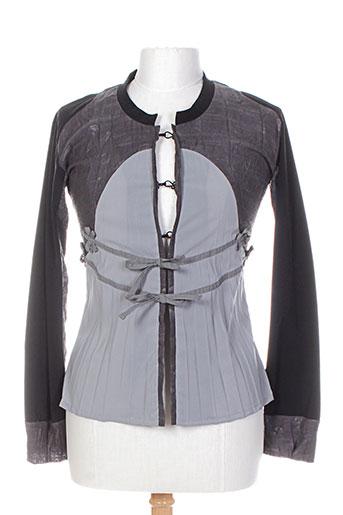 moloko vestes femme de couleur gris