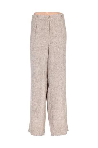 rio pantalons femme de couleur beige
