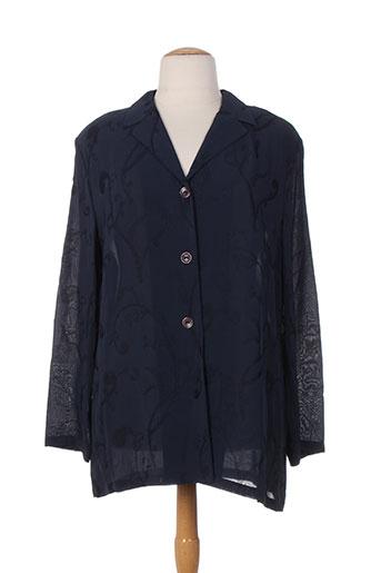 rio chemises femme de couleur bleu