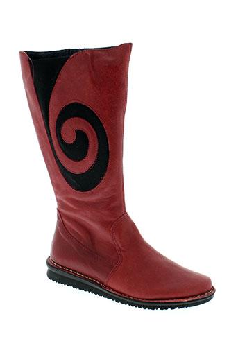 nice chaussures femme de couleur rouge