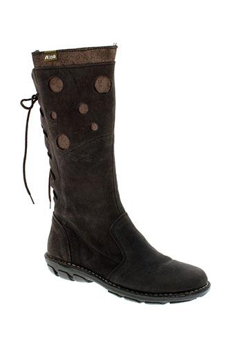 aice chaussures femme de couleur marron