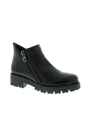 maria jaen chaussures femme de couleur noir